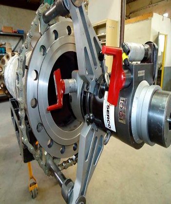 TU1200 Portable Flange Facing Machine