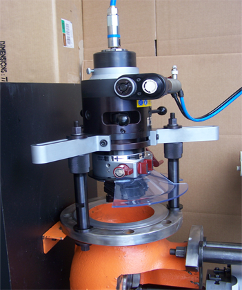 TU200 Portable Flange Facing Machine