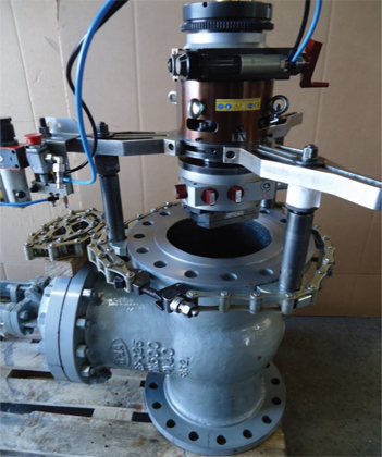 TU400 Portable Flange Facing Machine