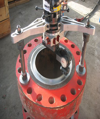 TU600 Portable Flange Facing Machine